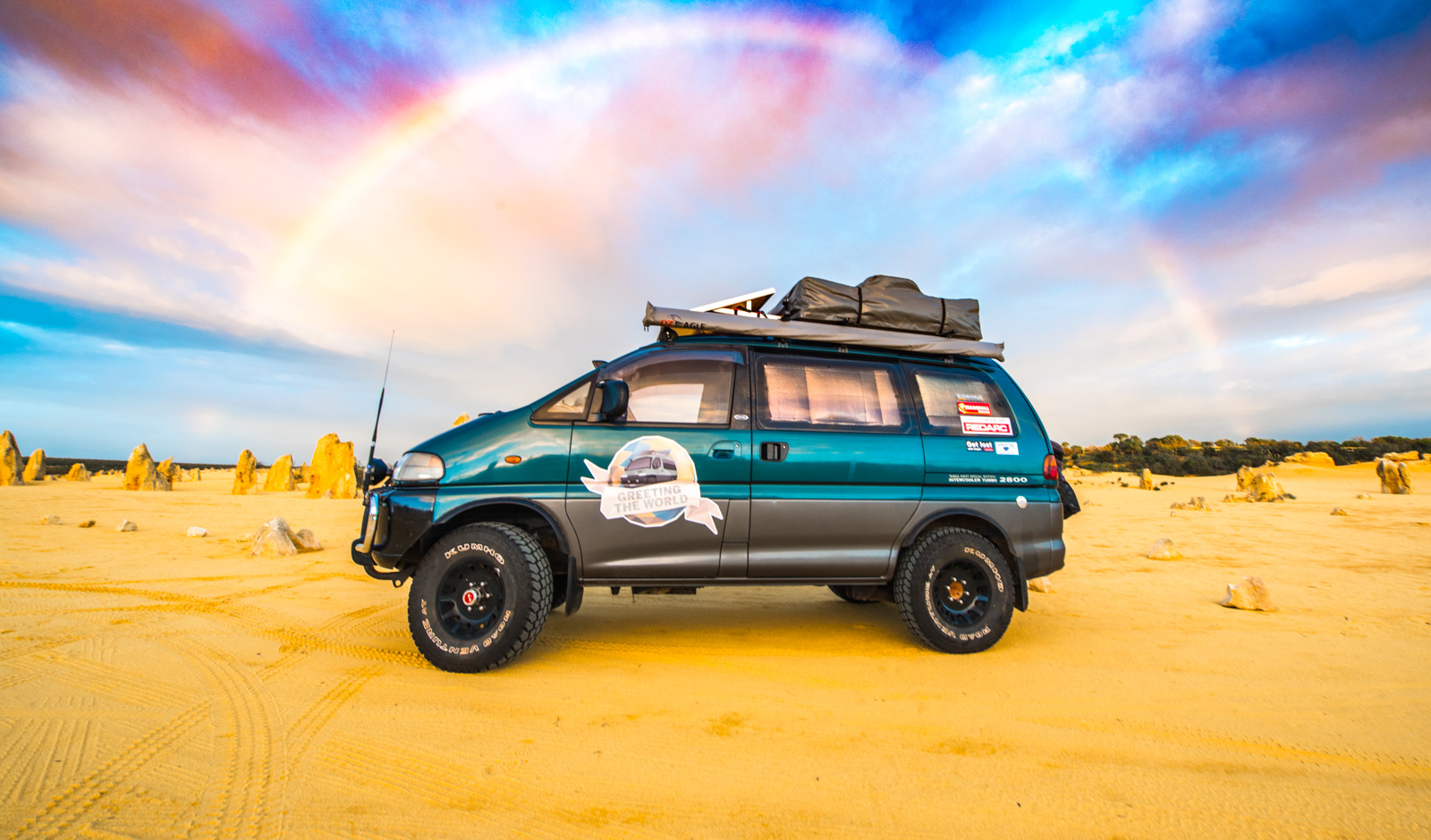 Why we chose a Mitsubishi Delica to drive around the world